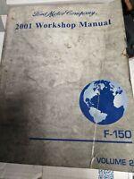 2001 Ford F-150 Workshop Repair Manual Volume 2 Free Shipping oem dealers book.