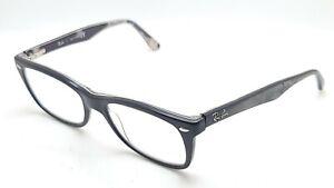 Ray Ban RB 5228 5405 Black Oval Eyeglasses Frame 50-17 140 Parts