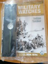 India 1970s Eagle moss Collection Military Watches issue 29