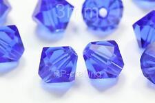 100 Austria bicone crystal beads 6mm for Swarovski 5301/5328-U pick colors #AB61