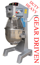 Single Phase 110 volt Planetary Mixer Pizza Dough Heavy Duty Gear Drive w/ timer