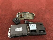 PORSCHE BOXSTER S (05-06) 3.2 ENGINE MOTOR DME COMPUTER SET KEY SWITCH OEM