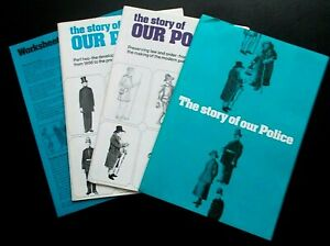 The Story Of Our Police booklet set, Home Office & Central O of Information 1977