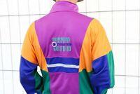 lotto Vintage running Jacke 90er Gr. M 80s-90s track jacket oldschool bunt VA1