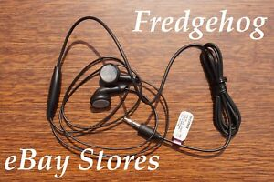 A SET OF QUALITY SONY EARPHONES / EARBUDS - 3 BAND JACK PLUG FOR MOBILE PHONES