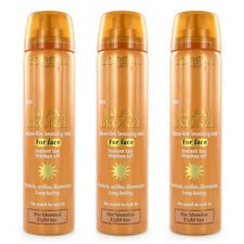 3 x L'Oreal Tanning Spray 75ml Face Glam Bronze Micro Fine Bronzing Mist Instant