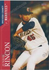 2016 Brevard County Manatees Junior Rincon RC Rookie Brewers