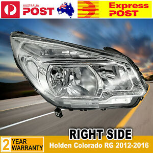 For Holden Colorado RG 2012-2016 Right RH RHS Head Light Chrome Non-Projector