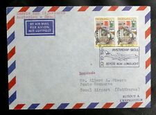THEMATIQUE AVIATION : PAYS BAS KLM 1er VOL AMSTERDAM / SEOUL 30. 10. 1984  - TBE