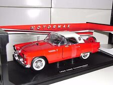 FORD THUNDEBIRD HARD TOP ROJO  MOTORMAX 1956 1:18