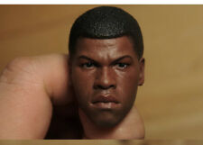 Custom 1/6 Scale Finn Head Sculpt For Star War Costume Hot Toys Figure Body