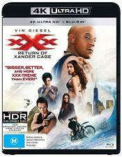XXX - Return Of Xander Cage 4K UHD (Blu-ray, 2017, 2-Disc Set) New & sealed