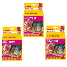 3 Packungen sera Nitrat-Test (NO3 - Test) - Wasseranalyse / Wassertest 04510