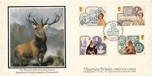 1987  Victoria Britain Full Set  Victorian Britain Stamps  FDC