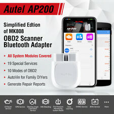 Autel Maxi AP200 Bluetooth OBD2 Car Code Reader Scanner Tool Full System ABS SRS