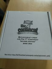 The 7th Continent Board game - Second Edition Replacement Cards    ** NEW **