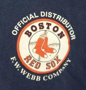 Boston Red Sox Official Distributor F.W. Webb Company T-shirt Men's Sz 2XL A02