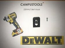 DEWALT BELT CLIP HOOK AND SCREW DCF813 DCF815 DCF610 DCD710 IMPACT DRIVER DCD985