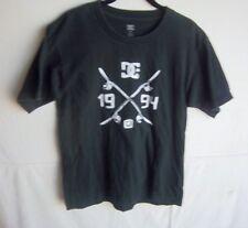 DC - Women's Black S/S T-Shirt - SIZE L