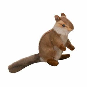 "NEW with Tag - Standing Upright 6.5"" Tall Chipmunk Plush Stuffed Hansa Toys 3090"