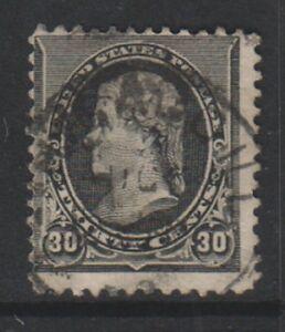 USA - 1890/3, 30c Black stamp - Used - SG 233