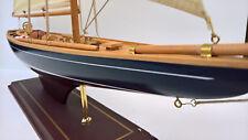 Segelyacht Segelschiff Holzmodell 77cm lang, 85cm hoch *NEU*