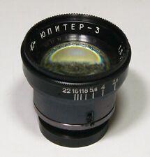 Jupiter-3 1.5/50mm #8100319 lens block, Russian Zeiss Sonnar