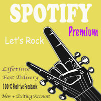 Spotify New Or Old Existing 👑 Premium 👑 Lifetime 👑 Fast Delivery 👑