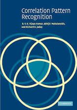 Correlation Pattern Recognition by Kumar, B. V. K. Vijaya, Mahalanobis, Abhijit