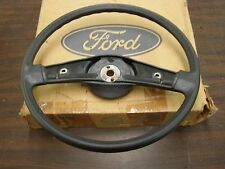NOS OEM 1984 Ford Ranger Truck Pickup Steering Wheel Black 2 Spoke 1985 1986