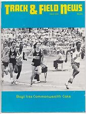 1974 Track and Field News Bayi Walker Dixon Jipcho Waldrop Commonwealth Games