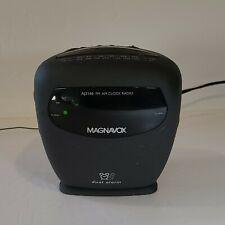 Philips Magnavox AJ3140/17 Digital Dual Alarm AM FM Clock Radio Works Great!