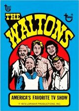 2018 Topps 80th Anniversary Wrapper Art Card #63 - 1973 Waltons