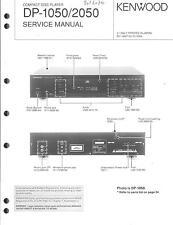Kenwood Original Service Manual für DP-1050/2050