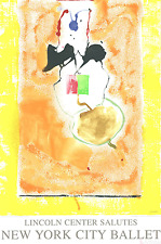 Solar Imp (serigraph) by Helen Frankenthaler Art Print 2001 Lincoln Center 45x30