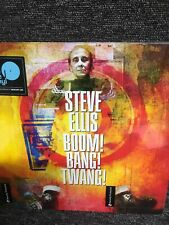 Steve Ellis -Boom! Bang! Twang! vinyl LP -New Sealed. Freepost Uk Paul Weller