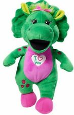 """Baby Bop 10"""" Plush Doll Sings I Love You - Barney and Friends  Fisher-Price NEW"""