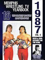 1987 Memphis Wrestling Tv Yearbook Volume 4 [DVD] [2017] [NTSC]