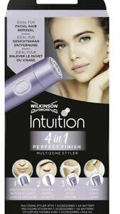 Wilkinson Sword 4-in-1 Intuition Perfect Finish Women Styler & Trimmer BIKINI