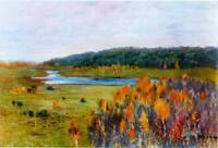 """stunning oil painting handpainted on canvas """"landscape """""""