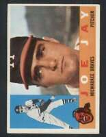 1960 Topps #266 Joe Jay NM/NM+ Braves 85032