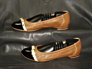 AGL Attilio Giusti Leombruni women's tan glove leather cap toe pump size EU 37.5