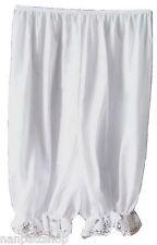white L1 100% nylon Half Slip Pantaloons Culottes Women Pettipants Bloomer XXL