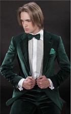Men Elegant Luxury Stylish Designer DG Velvet evening Party Wear Blazer UK