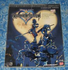 Kingdom Hearts Sony PlayStation 2 Video Game Official Strategy Guide Book Fair