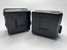 [ Look 2 Set!! ] Mamiya 645 120 Film Back Holder For 645 Super Pro TL From Japan