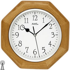 AMS 50 RC Wall Clock Kitchen Office Glass Dining Room hours work 167
