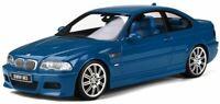 OTTO MOBILE 790 BMW E46 M3 resin model car Laguna Seca blue  Ltd Ed 2000 1:18th