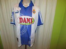 "RCD Espanyol Barcelone Original Puma maillot 1996/97 ""Dani"" taille L Top"