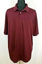 Haggar Clothing Men XLT Tall Lightweight Soft Golf Short Sleeve Polo Shirt